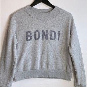 American Eagle Women's Bondi Gray Pullover Sweater